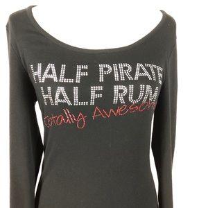 Half Pirate Half Rum tshirt
